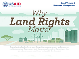 Why Land Rights Matter Infographic