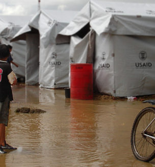 Bolivia flood shelters