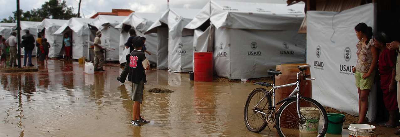 Bolivia flood shelters