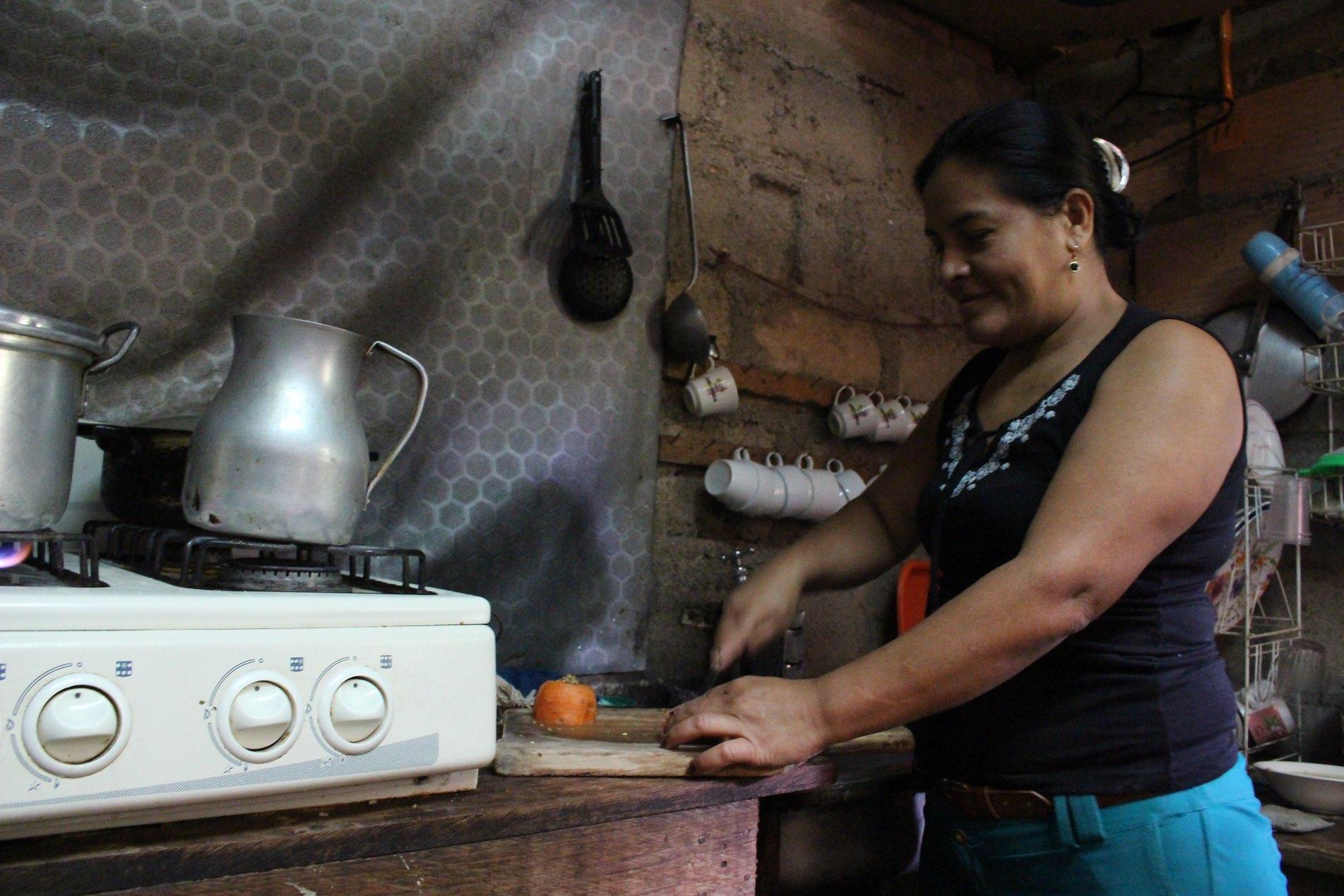 Derly Jomar in her shop