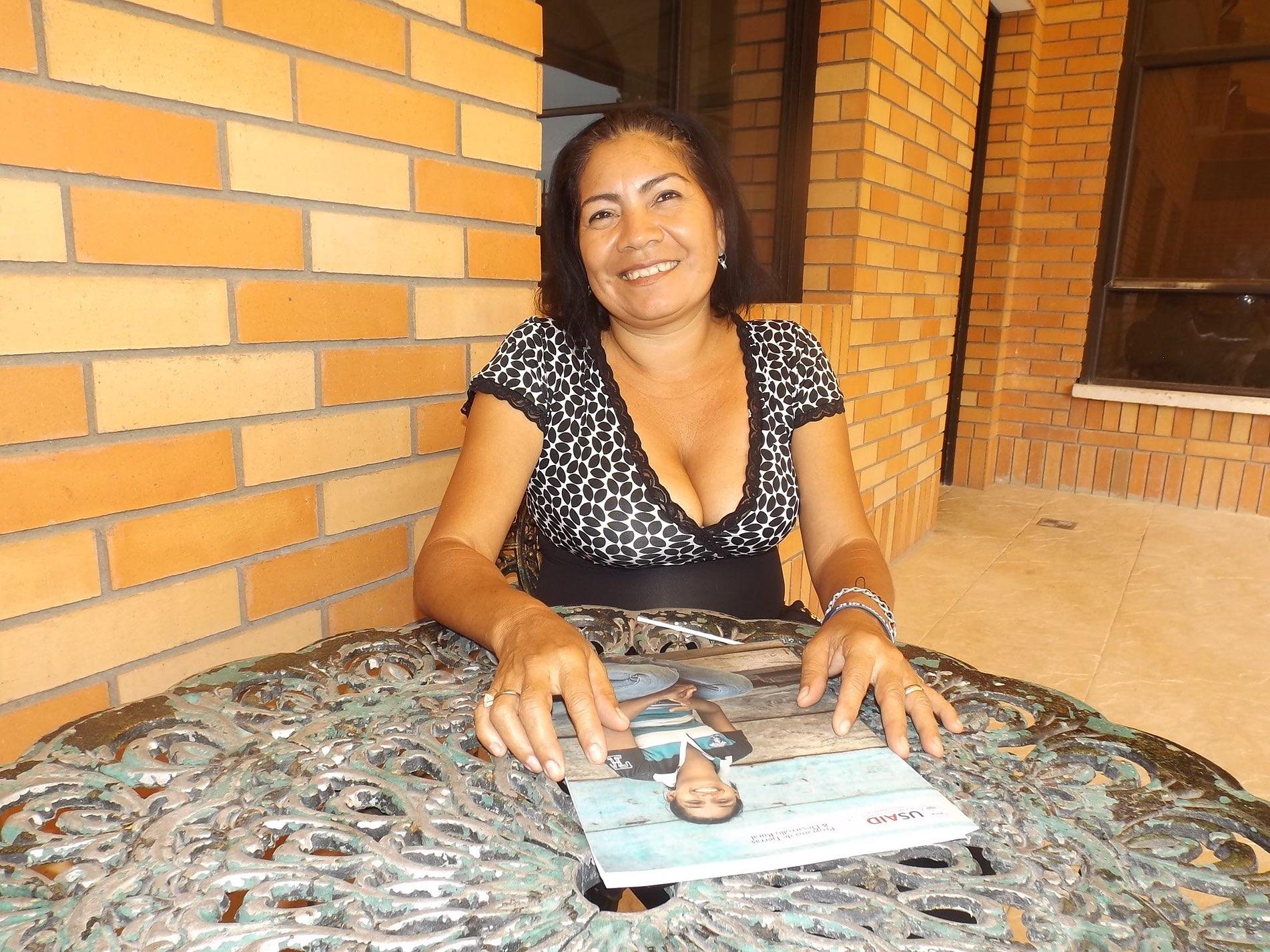 Deyis Carmona Tejeda, from Cesar, Colombia