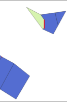 Topology Check and QGIS: Editing Parcels are Color-Coded by Status with Overlaps Highlighted
