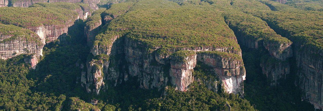 Aerial view Chiribiquete